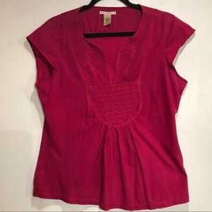 Ruffin Hewn Top.  Size Large